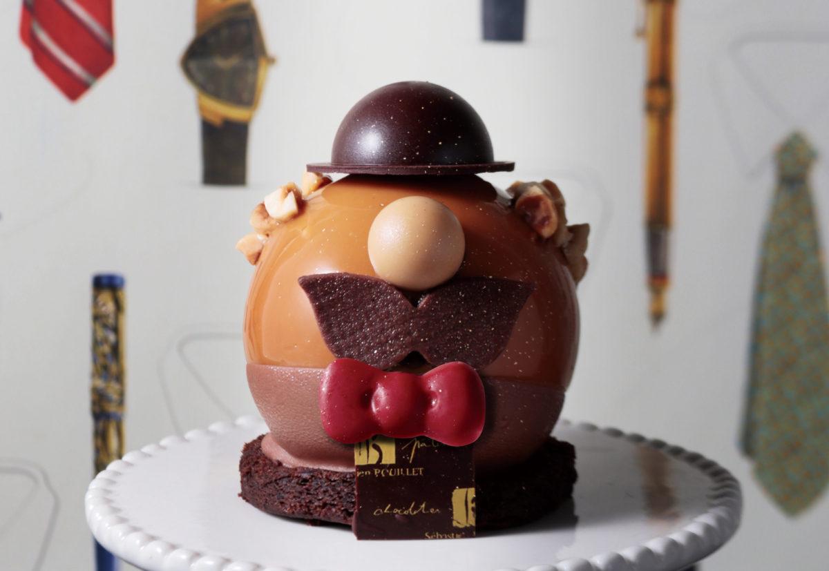 父の日のケーキ、モンパパが登場