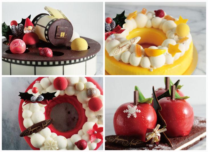 クリスマスを盛り上げる、百貨店限定の華やかなケーキが登場!