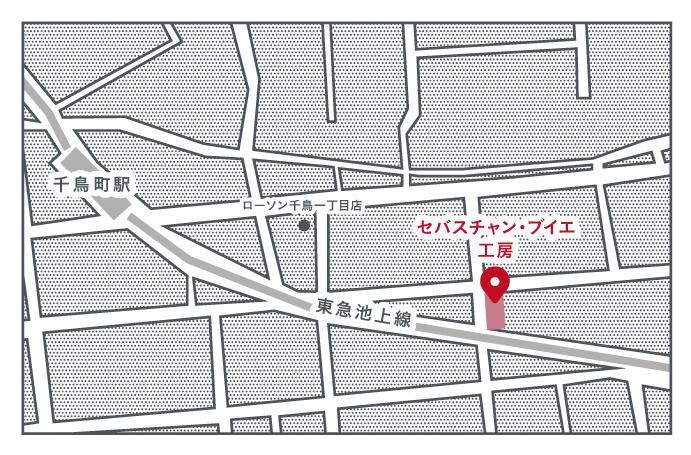 セバスチャン・ブイエ工房_地図